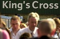 Entrada de la estación de King´s Cross. (foto: EFE)