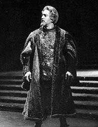 Piero Cappuccilli durante una representación. (Foto: C. della Sera)