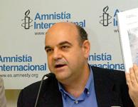 El director de la Sección Española de Amnistía Internacional. (Foto:EFE)