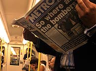 Pasajeros del metro. (Foto: AP)