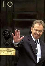 Tony Blair. (Foto: EFE)