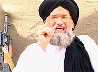 Al-Zahwari, en el vídeo emitido por Al Yazira. (Foto: AFP)