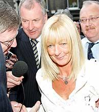 McNamara rehusó hacer declaraciones a la prensa. (Foto: AFP)