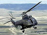 Un Super Puma Cougar de las Fuerzas Armadas. (Foto: EFE)