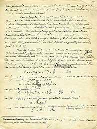 Una de las páginas del manuscrito. (Foto: Universidad de Leiden)