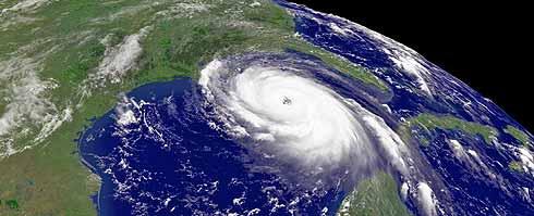Imagen tomada por satélite del huracán. (Foto: REUTERS)