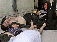 La mayoría de las víctimas de la estampida son mujeres, niños y ancianos. (Foto: REUTERS)