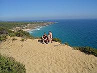 Una de las playas de Cádiz.