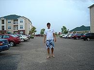 Eduardo, poco antes de llegar el 'Katrina'.