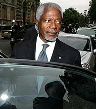 Kofi Annan. (Foto: AP)