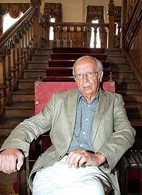 """El filósofo y neotelevidente Emilio Lledó, inventor del vocablo """"aterrorismado"""" (Foto: EFE)"""