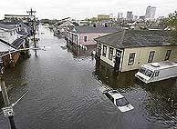 El 'Katrina' ha arrasado la ciudad de Nueva Orlenas. (Foto: AP)