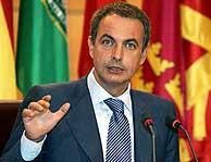 Zapatero ha hecho un balance positivo, que contrasta con el del PP. (Foto: EFE)