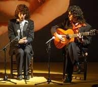Recreación del concierto parisino de Camarón y Tomatito