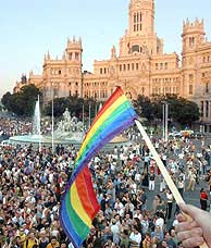 Imagen del último Orgullo Gay de Madrid. (Foto: Paco Toledo)