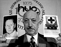 Simon Wiesenthal, en 1973. (Foto: AP)