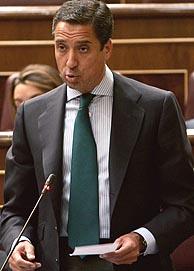 El portavoz del PP en el Congreso, Eduardo Zaplana. (Foto: EFE)