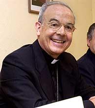 Alfonso Milian, obispo de Barbastro-Monzón. (Foto: EFE)