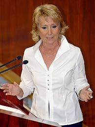Esperanza Aguirre. (Foto: EFE)