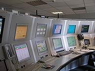 La sala de control de la antena. (Foto: O.C.)