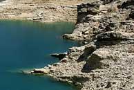 El pantano de Buendía, en la cabecera del Tajo. (Foto: EFE)