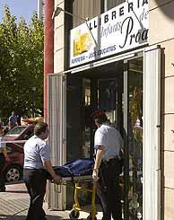 La librería, en la zona alta de Lleida. (Foto: EFE)