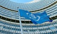 La bandera de la OIEA ante la sede del organismo en Viena. (Foto: AFP)