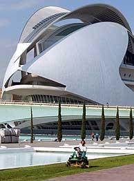 Vista del edificio diseñado por Calatrava. (Foto: REUTERS)