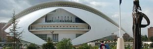 Vista exterior del Palau de les Arts 'Reina Sofía'. (Foto: EFE)