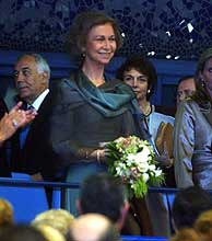La Reina SofÍa, en la inauguración del Palau de les Arts. (Foto: Vicent Bosch)