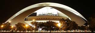 Palau de les Arts Reina Sofía de Valencia. (Foto: AFP)
