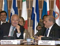 Reunión de ministros de Exteriores. (Foto:EFE)