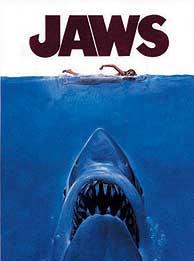 Cartel de la película Tiburón.