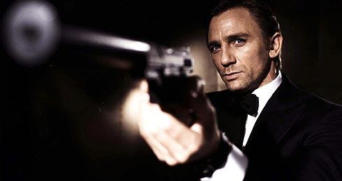Craig, caracterizado como James Bond. (Foto: AP/EON)