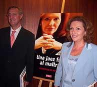 Raimunda de Peñafort, con Jesús Caldera. (Foto: S.A.)
