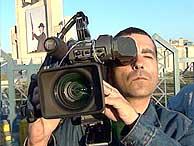 El cámara de Telecinco José Couso. (Foto: Telecinco)