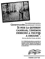 Página de publicidad, hoy, en EL MUNDO.