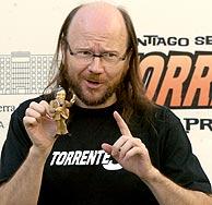 Segura en la presentación de 'Torrente 3'. (Foto: EFE)