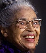 Rosa Lee Parks. (Foto: AP)