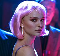 Natalie Portman durante una escena de Closer