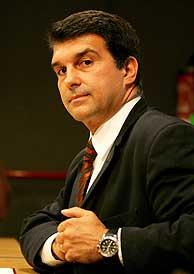 Joan Laporta, presidente del F.C. Barcelona (Foto: REUTERS)