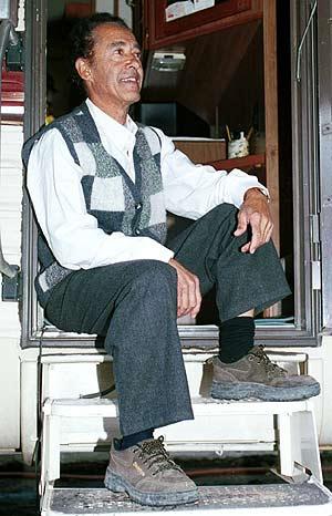 El acróbata Antonio Benjamín Papadopaulo, conocido como 'Tony Tonito'. (Foto: EFE)