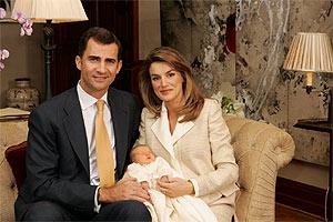 Los Príncipes, con Leonor. (Foto: Casa de Su Majestad el Rey / Borja)