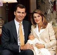 Los Príncipes de Asturias y la Infanta Leonor. (Foto: REUTERS)