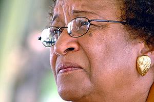 Ellen Johnson-Sirleaf, favorita para la Presidencia de Liberia. (Foto: REUTERS)