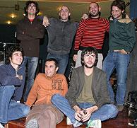 Foto de familia del 'Laboratorio Ñ'. (Foto: Uriel Casamiquela)