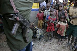Niños de República Democrática del Congo. (Foto: F. Zizola. MSF)