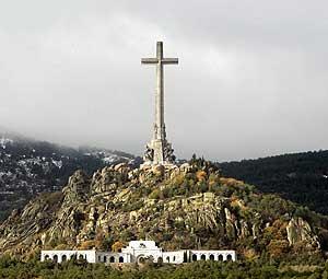 El Valle de los Caídos. (Foto: AP)