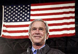George W. Bush, en un acto con tropas de EEUU en Corea del Sur. (Foto: REUTERS)