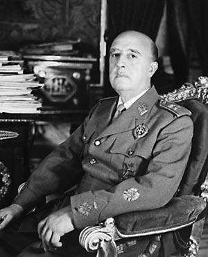 Imagen de archivo de Francisco Franco. (Foto: EFE)